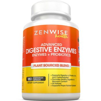Zenwise Health's Advanced Digestive Enzymes Review image