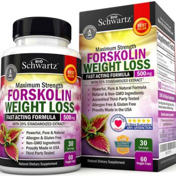 Forskolin Diet Pills & Belly Buster Supplement Review image