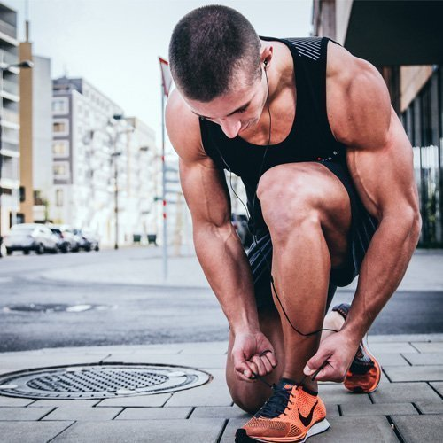Creatine monohydrate for muscle growth