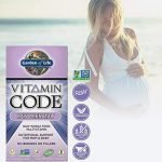 Garden of Life raw prenatal vitamins for hair growth and health support