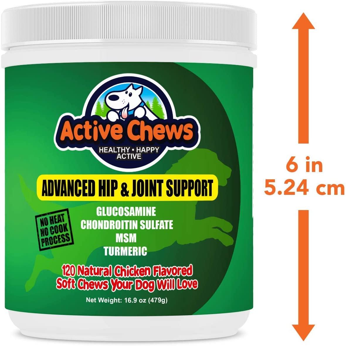 21st century active chews joint dog treats